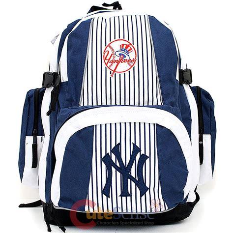 new yorker rucksack mlb new york yankees large school backpack ny team logo ny