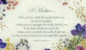 Poems About Mother's