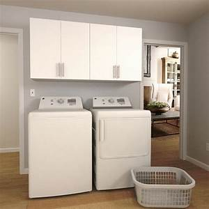 Charming home depot laundry room cabinets w white laundry for White laundry room cabinets home depot