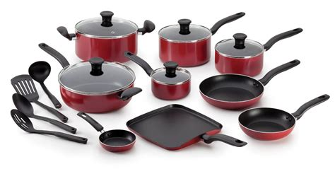 T-fal Initiatives 18-piece Nonstick Inside And Out