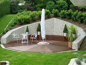 gaviones y muros de alambre y piedras 63 disenos With good amenagement jardin autour piscine 10 mur de clature en gabion contemporain jardin