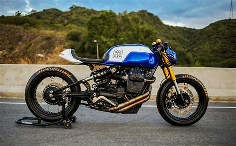 lucky a moto guzzi v7 racer from lucky customs pipeburn