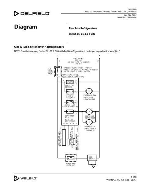 delfield refrigerator wiring diagram wiring library