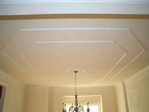 Ceiling Ideas For Dining Room Room Molding Trim Dining