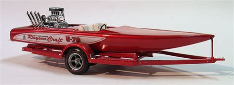 Boat Trailer Drag Wheels by 1970 Buick Wildcat Rayson Craft Drag Boat