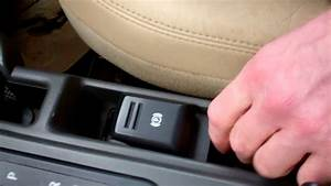 How To Replace  Upgrade Handbrake Switch On Land Rover
