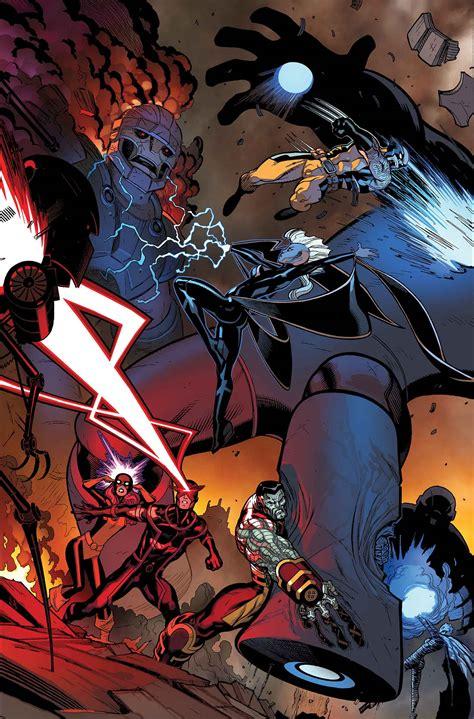 The Xmen Panel Nightcrawler Returns, Longshot Goes Solo
