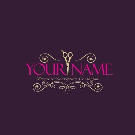 exclusive logo design hair salon logo images