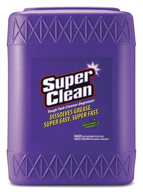 superclean cleanerdegreaser  gal bottle unscented