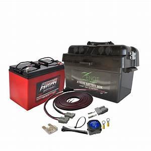 Batterie 12 Volts : zenot 12v dual battery box with 135ah agm battery all 12 ~ Farleysfitness.com Idées de Décoration