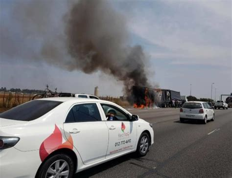 intelligence bureau sa looters descend on burning truck on r21 kempton