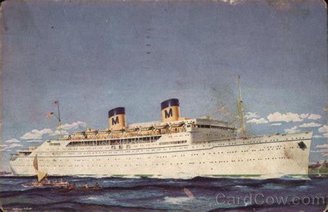 Matson Lines - S.S. Lurline Cruise Ships