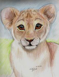 Baby Lion by NatsumeWolf on DeviantArt