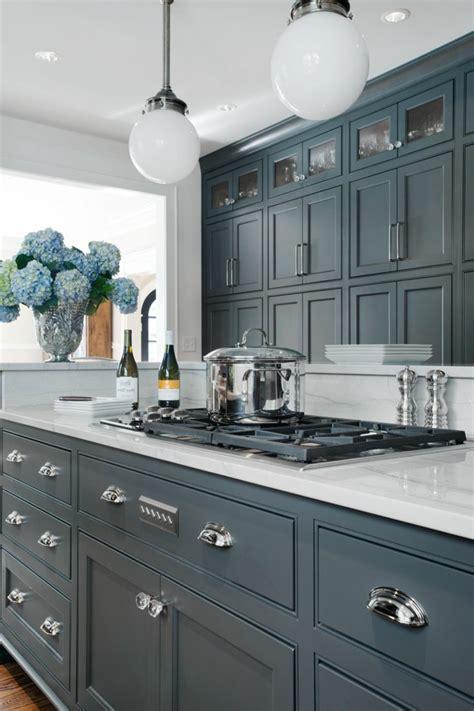 cuisine en gris meuble de cuisine gris anthracite sedgu com