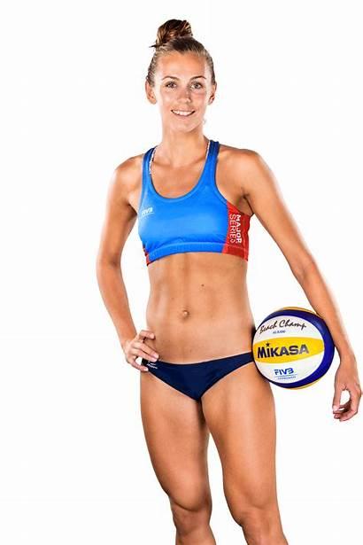 Beach Volleyball Oda Height Players Beachmajorseries 2766
