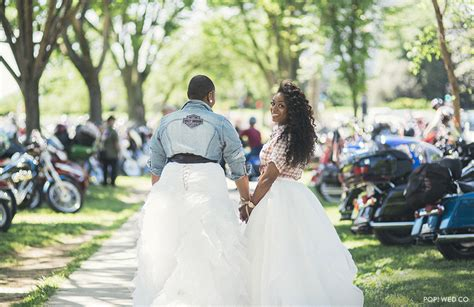 A Popup Wedding At Rolling Thunder