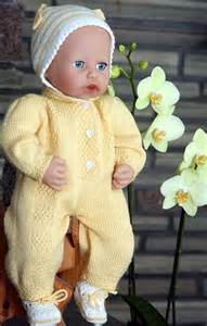 Free Baby Knitting Patterns Doll Clothes