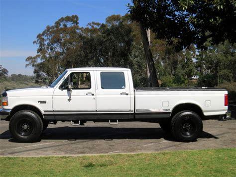 Vw 4 Door Truck by 1997 Ford F 350 4 215 4 Crew Cab 4 Door 7 3l Diesel