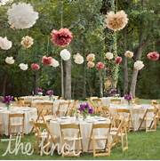 Garden Party Decoration Ideas by Whimsical Outdoor Reception Decor Our Big Day Navy Coral Gray P