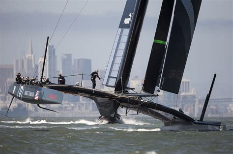 Boat World Usa by Ac34 Oracle Ac72 Back On Track Catamaran Racing News