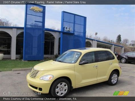 2007 Chrysler Pt Cruiser Touring by Pastel Yellow 2007 Chrysler Pt Cruiser Touring Pastel