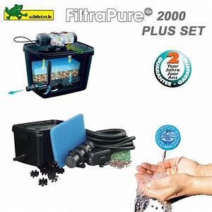 Filtre Bassin Exterieur : filtre pour bassin ext rieur filtrapure 2000 plus set ~ Melissatoandfro.com Idées de Décoration