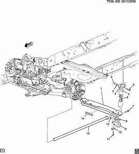 Gmc Sierra Bolt  Front Spring  Rear Axle Control Arm