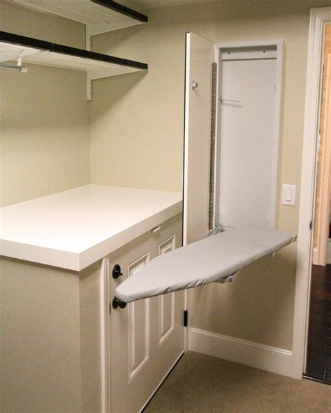 wall mounted closet marvelous wall mount ironing board decorating ideas