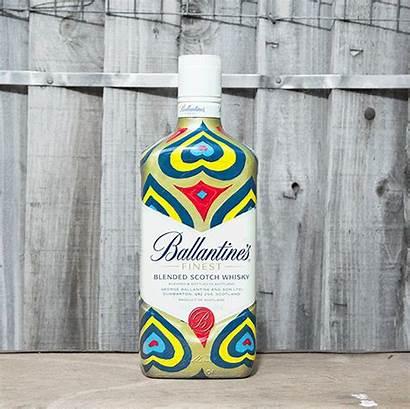 Ballantine Whisky Bottle Liquor Alcohol Blended Centaur