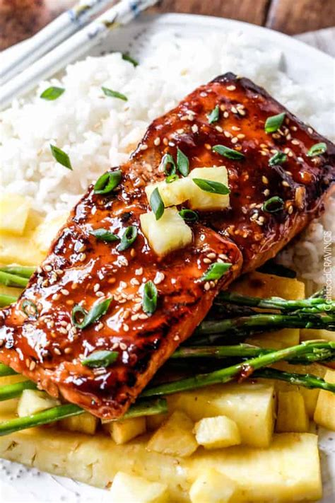 bbq salmon asian bbq salmon carlsbad cravings