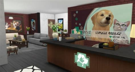 sims artists vet clinic sims  downloads