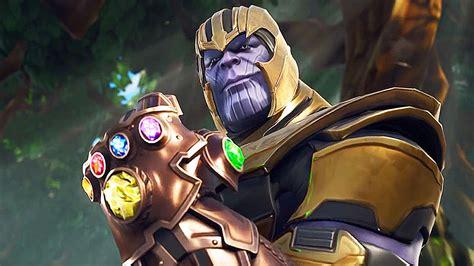 ya pueden ser thanos de avengers infinity war en fortnite
