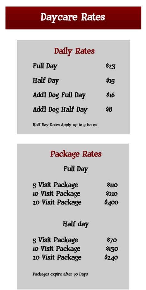 learning solutions daycare prices 225 | Daycare Rates