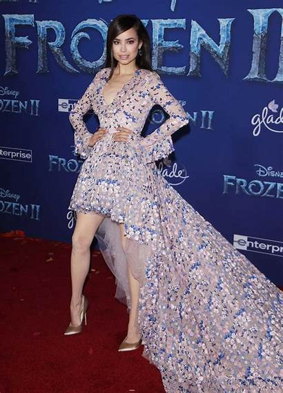 Frozen Premiere Sofia Carson Hollywood Attends Angeles