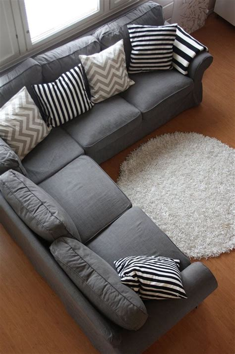 grey sofa throw pillows grey couch with cool pillows could also add some accent
