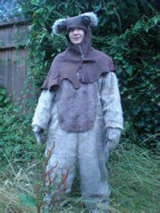 sale adult ewok costume sm  mossyrosecb  etsy silly