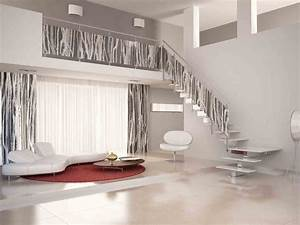 Ideas Beautiful Glass Stair Railing Design Examples To