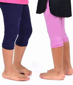 Robinbosky Cute Pink and Navy Blue 3/4th Leggings For Kids- Combo of 2 - Buy Robinbosky Cute ...