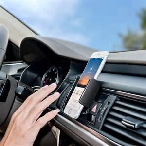 UP car mobile phone holder, vent fixed smart phone mount, cell phone stand, fitting 3 ~ 5.5 in mobile phone iPhone 5 6 plus