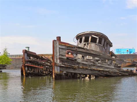 Boat Salvage Yards Perth by The Arthur Kill Ship Graveyard Flesh Relics