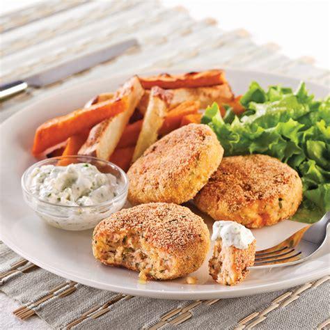 croquette de saumon cuisine futee croquettes de saumon et tofu soupers de semaine recettes 5 15 recettes express 5 15
