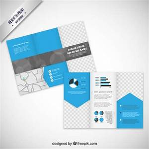 brochure template in modern style vector free download With free vector brochure templates