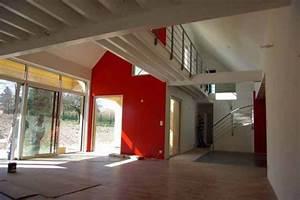 construction dune maison en bois et ecologique With maison hauteur sous plafond