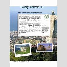 Holiday Postcard 17 Worksheet  Free Esl Printable