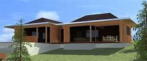 Maison En Bois Tout Compris : maison bois poteau poutre rh ne ~ Melissatoandfro.com Idées de Décoration