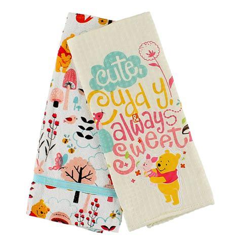 disney kitchen towels your wdw disney kitchen towel set winnie the pooh