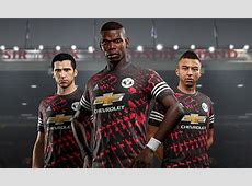 Man Utd, Real Madrid, Juve and Bayern launch FIFA 18 kits