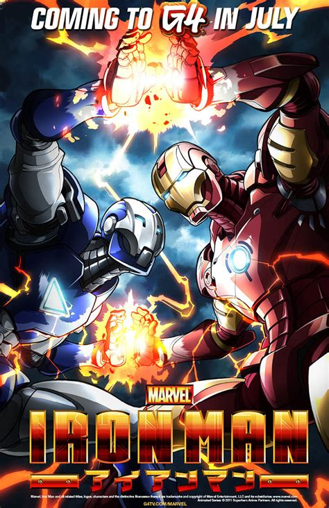 animax bringt marvel anime iron man ab september