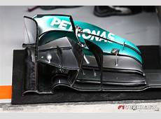 Mercedes AMG F1 W05 front wing detail Photo gallery