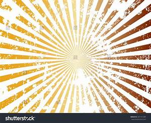 Grunge Sun Sunburst Pattern Vector Illustration Stock ...